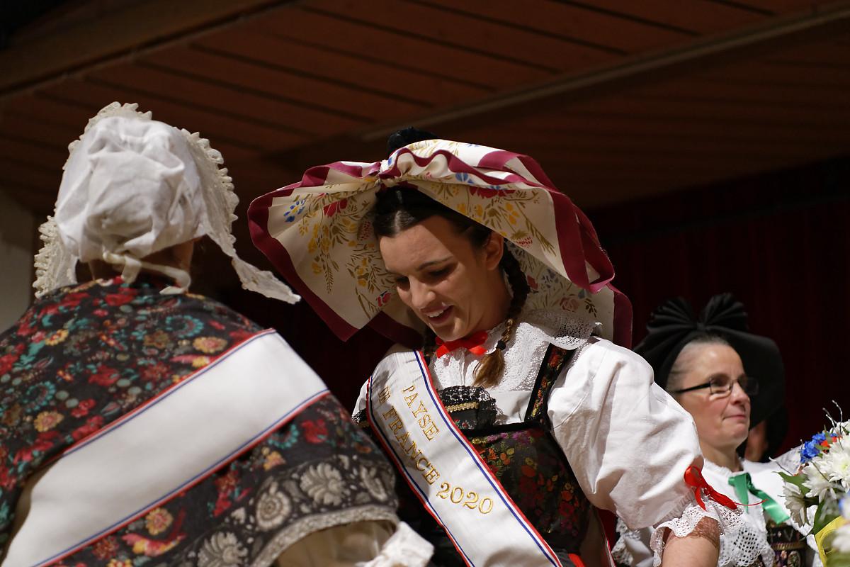 Aline Krebs, groupe « L'Echo du Kochersberg », Alsace, région Grand Est